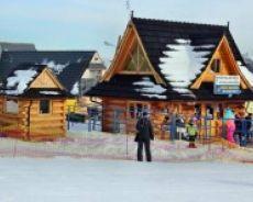 Wyciąg narciarski U góry