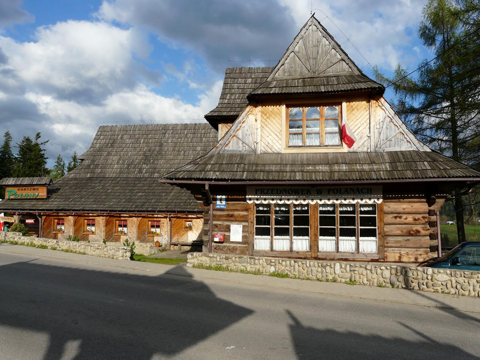 Dom ludowy w Kościelisku