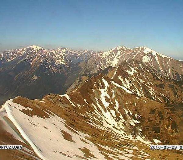 Aktualny widok na Góry 23-05-2016