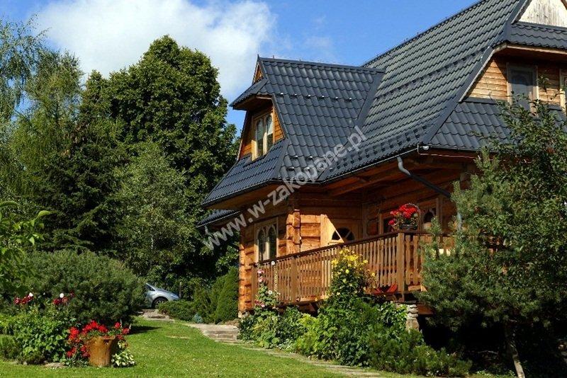 Dom drewniany z widokiem na Tatry-1707