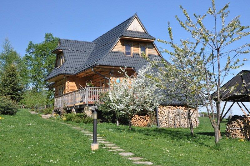 Dom drewniany z widokiem na Tatry-1712