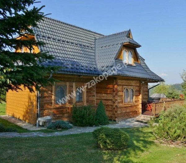 Dom drewniany z widokiem na Tatry-1706