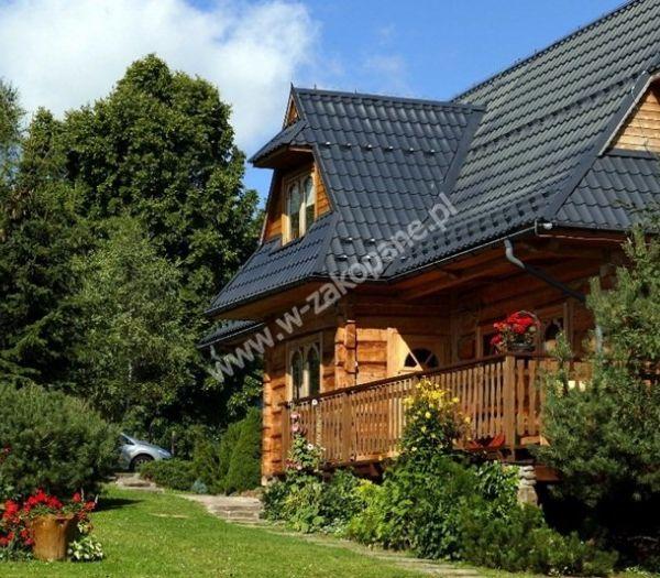 Dom drewniany z widokiem na Tatry, zdjęcie nr. 1707