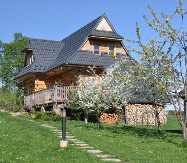 Dom drewniany z widokiem na Tatry, zdjęcie nr. 1712