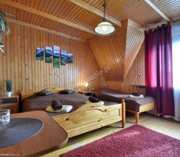 Atrakcyjne pokoje u Paliderki.-4329